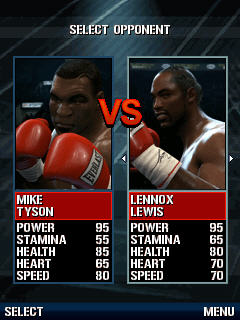 Игра Fight Night Round 4 для Samsung S3650