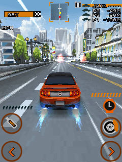 Игра Need For Speed The Run 3D для Samsung Corby S3650