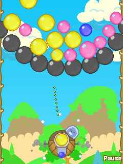 Игра Bubble Popper для Samsung Corby