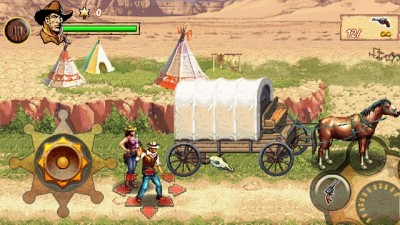 Игра Cowboys And Aliens для Samsung Corby S3650